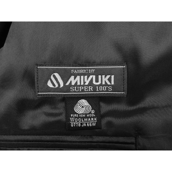 MIYUKI スーツ メンズ A6体 礼服 喪服 フォーマルスーツ ダブル メンズスーツ 男性用/40代/50代/60代/ファッション/中古/083/SBGX10|igsuit|08
