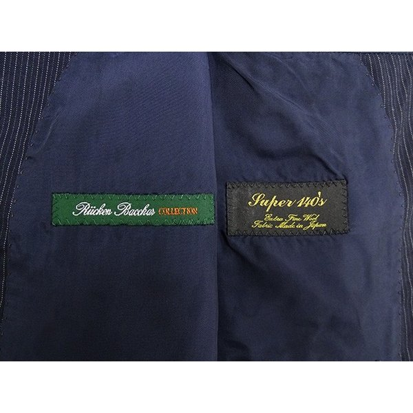 Rucken Bacchar ジャケット メンズ A5体 Mサイズ メンズジャケット 男性用/40代/50代/60代/ファッション/中古/クールビズ/072/UDGF03|igsuit|05