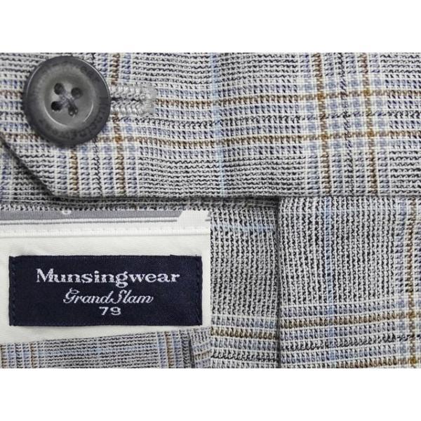 在庫処分セール Munsingwear スラックス メンズ ウエスト78cm×股下67cm 男性用スラックス/中古/訳あり/VDRA10|igsuit|02