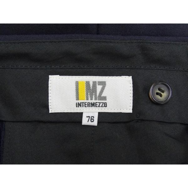 INTERMEZZO スラックス メンズ ウエスト76cm×股下78cm 男性用スラックス/40代/50代/60代/ファッション/中古/074/VDYZ07 igsuit 05