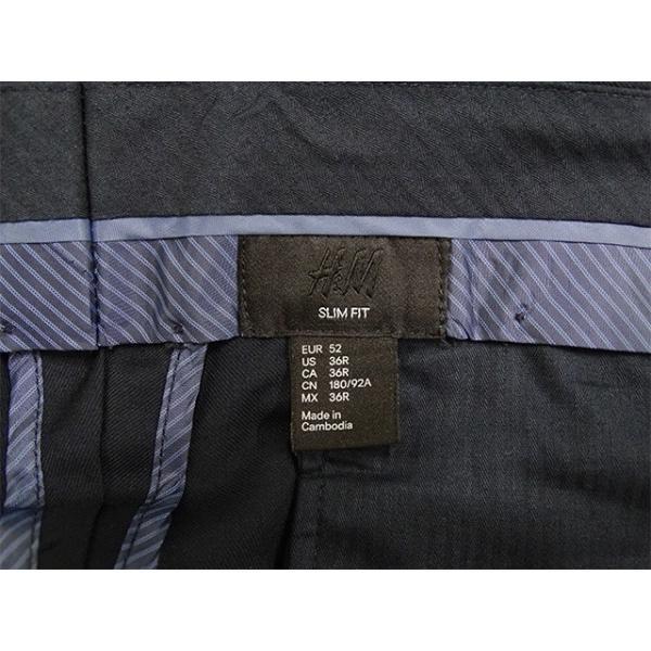 H&M スラックス メンズ ウエスト94cm×股下82cm 男性用スラックス/20代/30代/ファッション/中古/074/VDZA10|igsuit|05