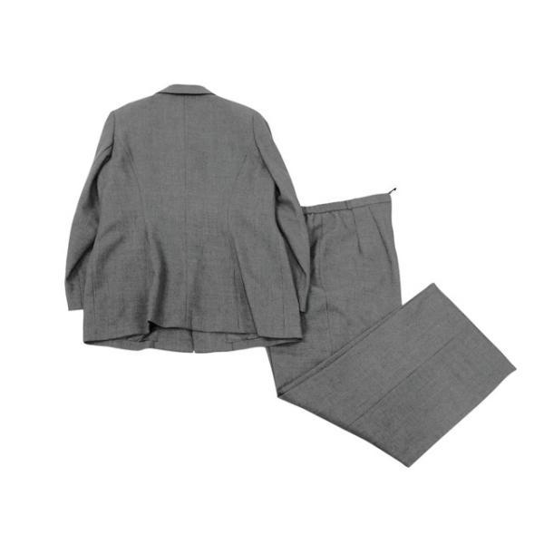 スーツ レディース 17号/LLサイズ程度 パンツスーツ レディーススーツ 女性用/中古/訳あり/WCCW04|igsuit|02