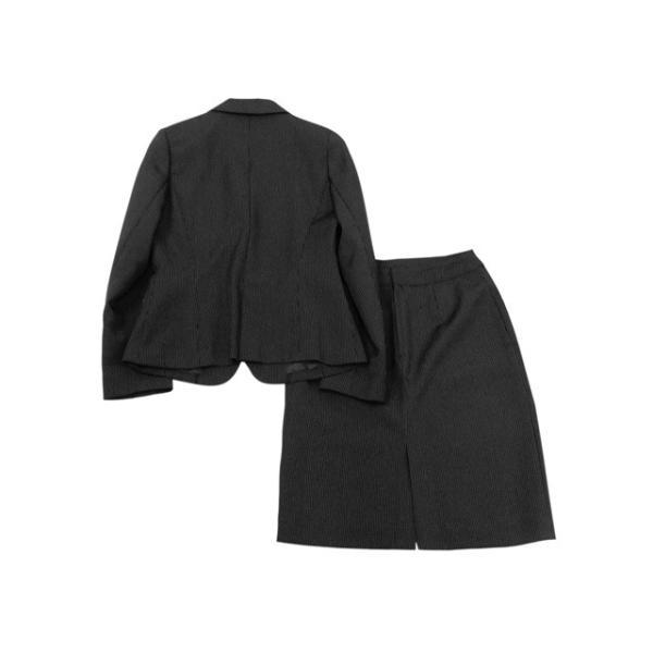 衣替え応援セール CLOWARDS スーツ レディース 9号/Mサイズ程度 スカートスーツ レディーススーツ 女性用/中古/訳あり/WCCW07|igsuit|02