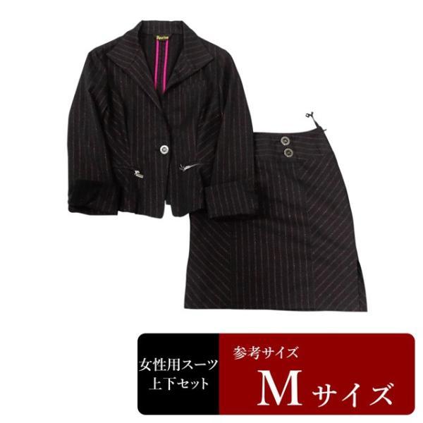 Re:rise スーツ レディース 9号程度/Mサイズ スカートスーツ レディーススーツ 女性用/中古/訳あり/WCCX07 igsuit