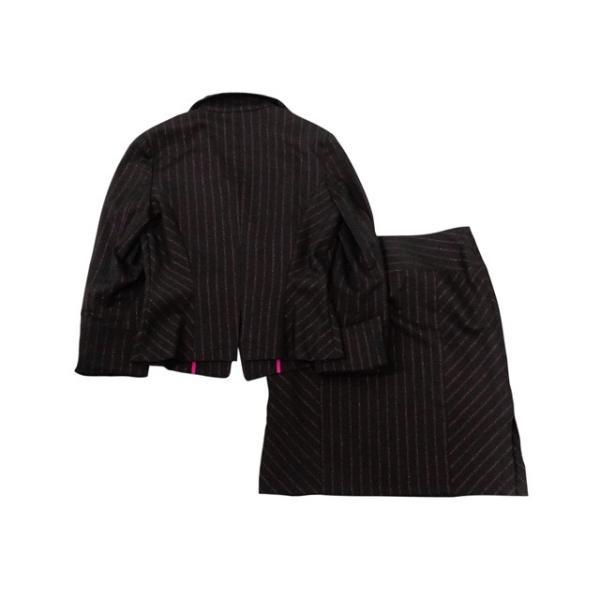 Re:rise スーツ レディース 9号程度/Mサイズ スカートスーツ レディーススーツ 女性用/中古/訳あり/WCCX07 igsuit 02