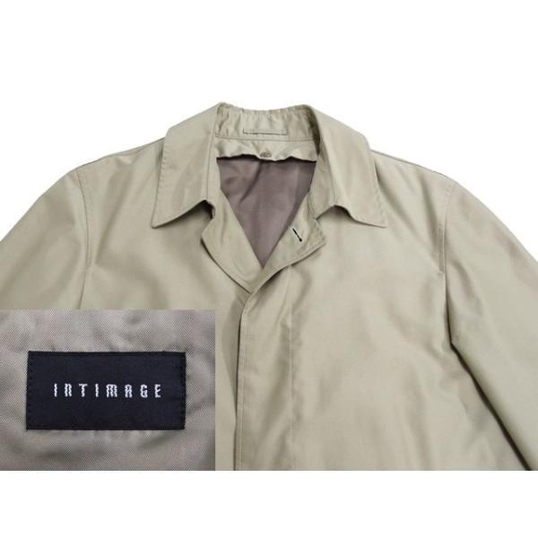 衣替え応援セール INTIMAGE コート メンズ Sサイズ ロングコート メンズコート 男性用/中古/訳あり/春秋コート/XEFD03|igsuit|03