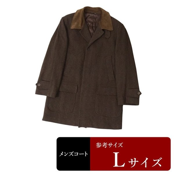 CONFEZIONI MALCO コート メンズ Lサイズ ロングコート メンズコート 男性用/中古/訳あり/秋冬コート/ZPTT14|igsuit