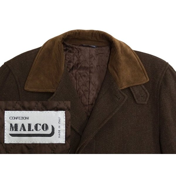 CONFEZIONI MALCO コート メンズ Lサイズ ロングコート メンズコート 男性用/中古/訳あり/秋冬コート/ZPTT14|igsuit|03