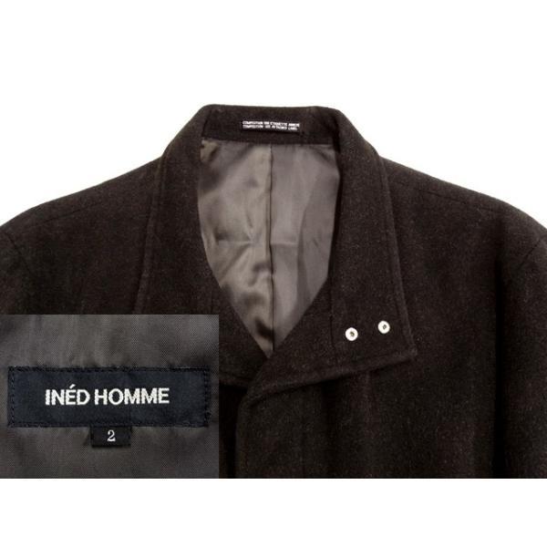 INED HOMME コート メンズ Mサイズ ロングコート メンズコート 男性用/中古/訳あり/秋冬コート/ZPWC08|igsuit|03