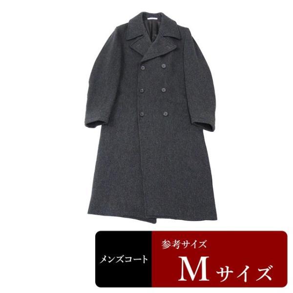 衣替え応援セール ATELIER SAB コート メンズ Mサイズ ロングコート メンズコート 男性用/中古/訳あり/秋冬コート/ZPZD14|igsuit