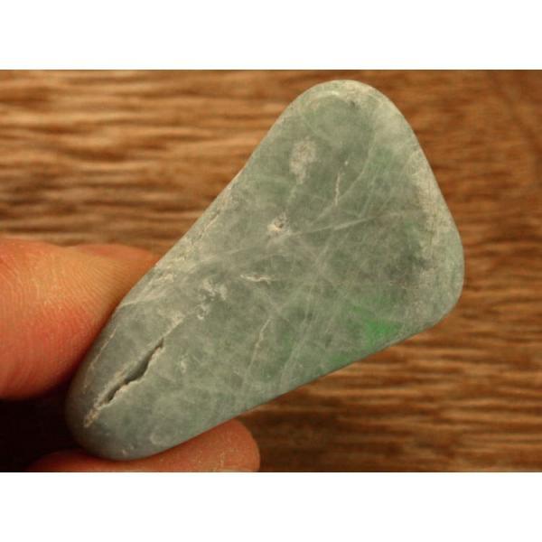 糸魚川翡翠磨き石 G00707