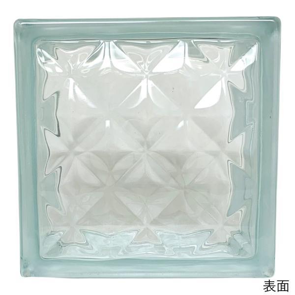 ガラスブロック 日本基準サイズ 世界で有名なブランド品 厚み95mmクリア色宝石ラインgb0295|ihome|02