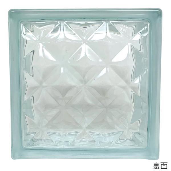ガラスブロック 日本基準サイズ 世界で有名なブランド品 厚み95mmクリア色宝石ラインgb0295|ihome|03