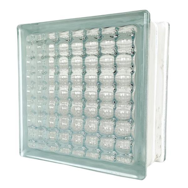 ガラスブロック 日本基準サイズ 世界で有名なブランド品 厚み95mmクリア色平行水晶gb0595|ihome