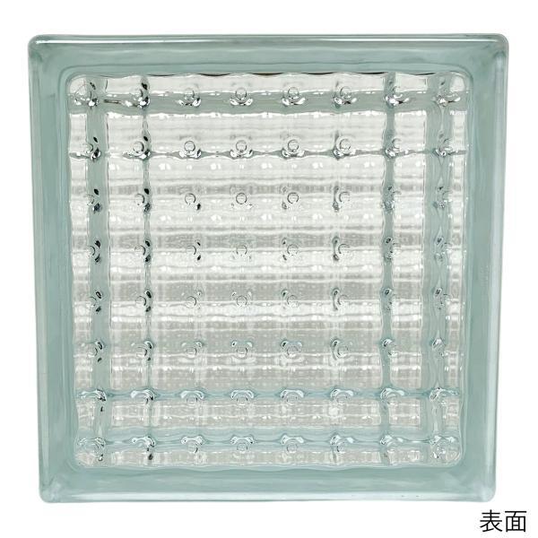 ガラスブロック 日本基準サイズ 世界で有名なブランド品 厚み95mmクリア色平行水晶gb0595|ihome|02