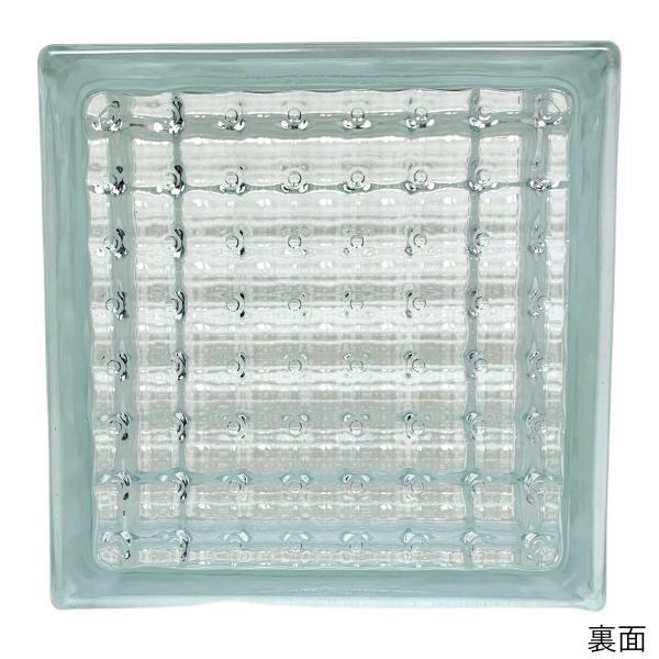 ガラスブロック 日本基準サイズ 世界で有名なブランド品 厚み95mmクリア色平行水晶gb0595|ihome|03