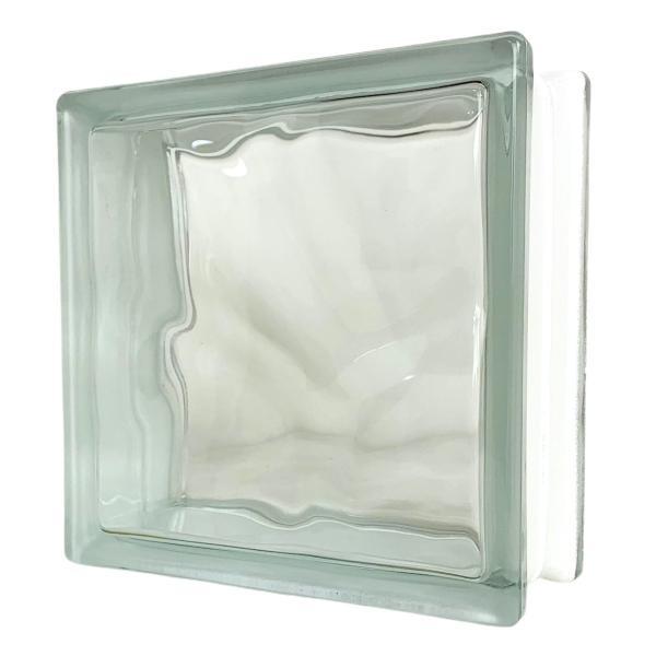 6個セット 送料無料 ガラスブロック 世界で有名なブランド品 厚み80mmクリア色雲・クラウディ gb2680-6p|ihome|02