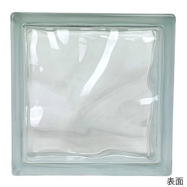 6個セット 送料無料 ガラスブロック 世界で有名なブランド品 厚み80mmクリア色雲・クラウディ gb2680-6p|ihome|03