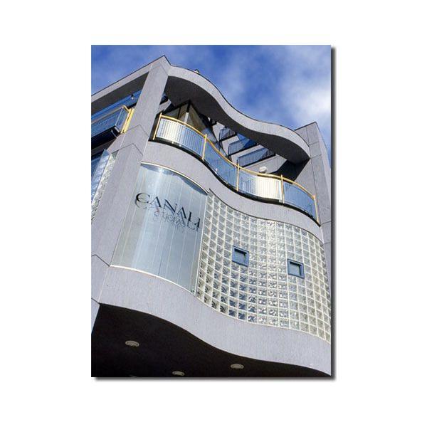 6個セット 送料無料 ガラスブロック 世界で有名なブランド品 厚み80mmクリア色雲・クラウディ gb2680-6p|ihome|06