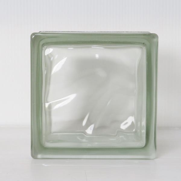 8個セット 送料無料 ガラスブロック 世界で有名なブランド品 厚み95mmクリア色雲クラウディgb30195-8p ihome
