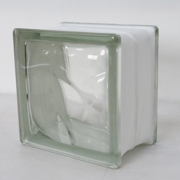 8個セット 送料無料 ガラスブロック 世界で有名なブランド品 厚み95mmクリア色雲クラウディgb30195-8p ihome 02