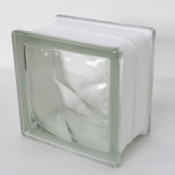 8個セット 送料無料 ガラスブロック 世界で有名なブランド品 厚み95mmクリア色雲クラウディgb30195-8p ihome 03