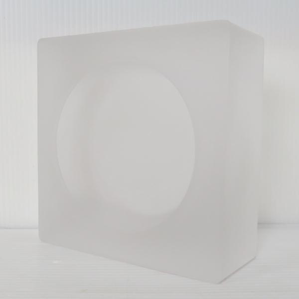 6個セット 送料無料 ガラスブロック 世界で有名なブランド品 厚み60mmミスティ白色ソリッドgb501|ihome
