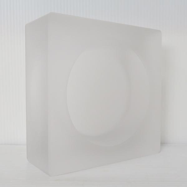 6個セット 送料無料 ガラスブロック 世界で有名なブランド品 厚み60mmミスティ白色ソリッドgb501|ihome|04