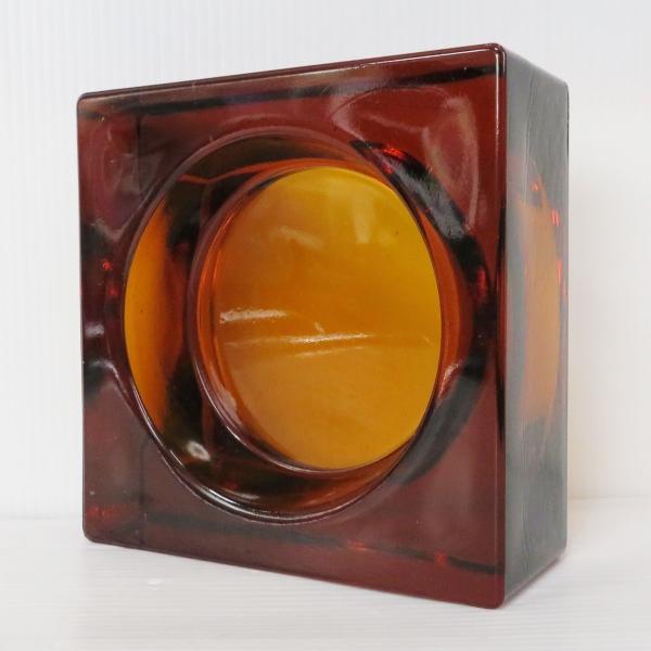 6個セット 送料無料 ガラスブロック 世界で有名なブランド品 厚み60mmダークレッド色ソリッドgb502|ihome