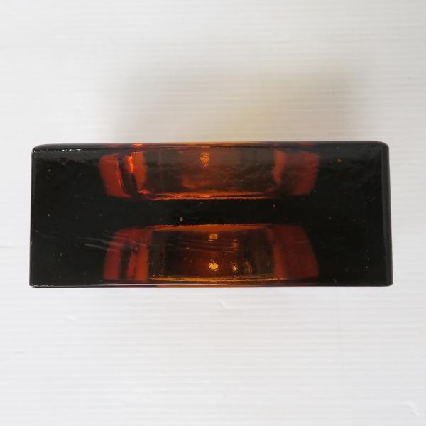 6個セット 送料無料 ガラスブロック 世界で有名なブランド品 厚み60mmダークレッド色ソリッドgb502|ihome|03