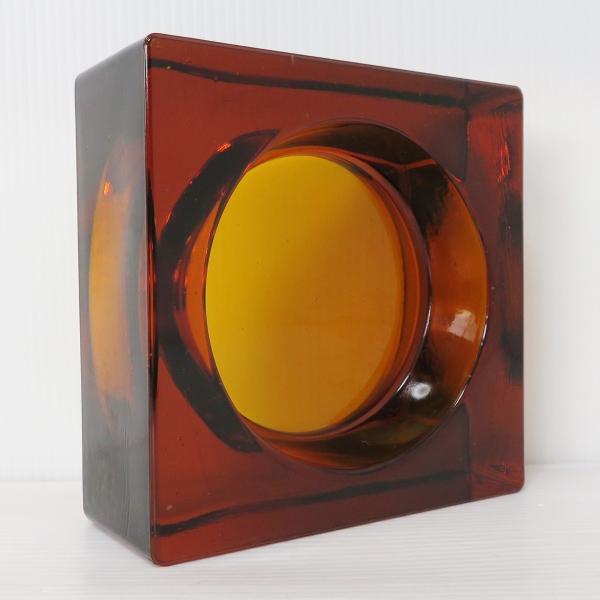 6個セット 送料無料 ガラスブロック 世界で有名なブランド品 厚み60mmダークレッド色ソリッドgb502|ihome|04