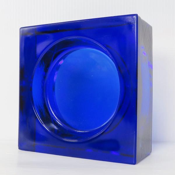6個セット 送料無料 ガラスブロック 世界で有名なブランド品 厚み60mmダックブルー色ソリッドgb506|ihome