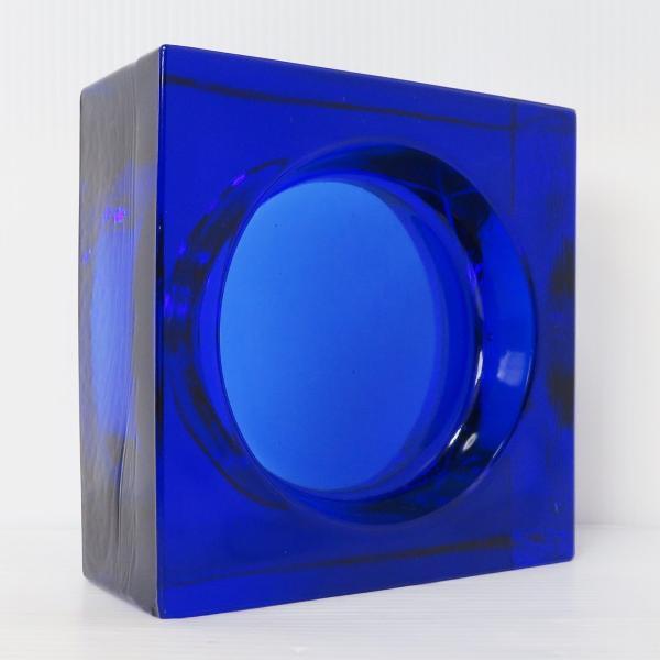 6個セット 送料無料 ガラスブロック 世界で有名なブランド品 厚み60mmダックブルー色ソリッドgb506|ihome|04