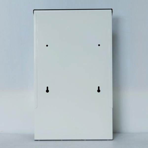郵便ポスト郵便受けおしゃれかわいい人気北欧モダンデザインメールボックス壁掛けプレミアムステンレスシルバー色ポストpm011|ihome|04