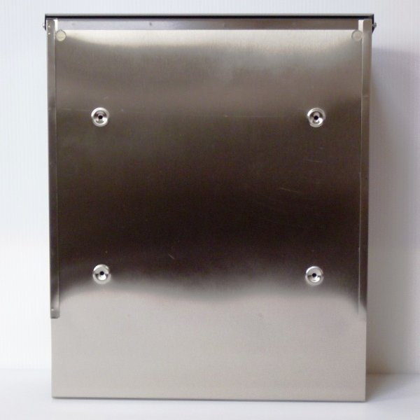 郵便ポスト郵便受けおしゃれかわいい人気北欧モダンデザイン大型メールボックス 壁掛けプレミアムステンレスシルバーステンレス色ポストpm141 ihome 04