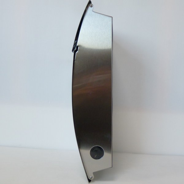 郵便ポスト郵便受けおしゃれかわいい人気北欧モダンデザインメールボックス壁掛けダイヤル錠付きプレミアムステンレスシルバーステンレス色ポストpm161 ihome 04