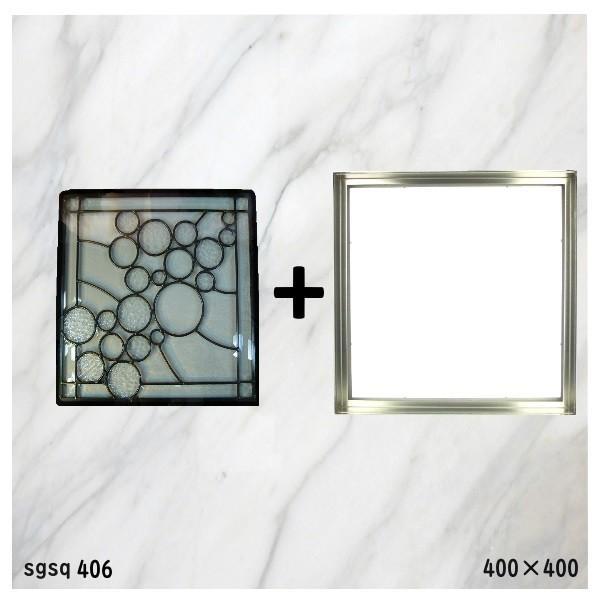 ステンド グラス ステンドグラス ステンドガラス デザインパネルsgsq406f|ihome