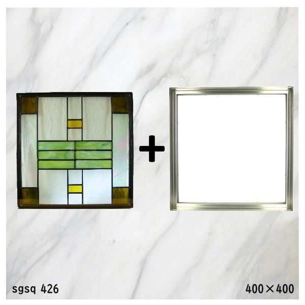 ステンド グラス ステンドグラス ステンドガラス デザインパネルsgsq426f|ihome