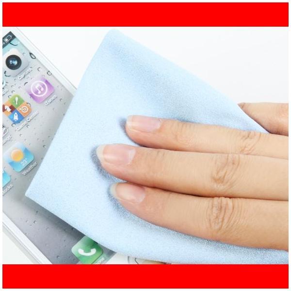 送料無料 スマホ クリーナー 液晶 クリーニングクロス タブレット iPad iPhone アンドロイド Android CTK-SP01B ゆうメール