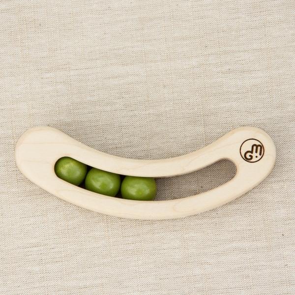 マストロ・ジェッペット 木のおもちゃ fava ファーヴァ グリーン 日本製 福島県南会津|iie