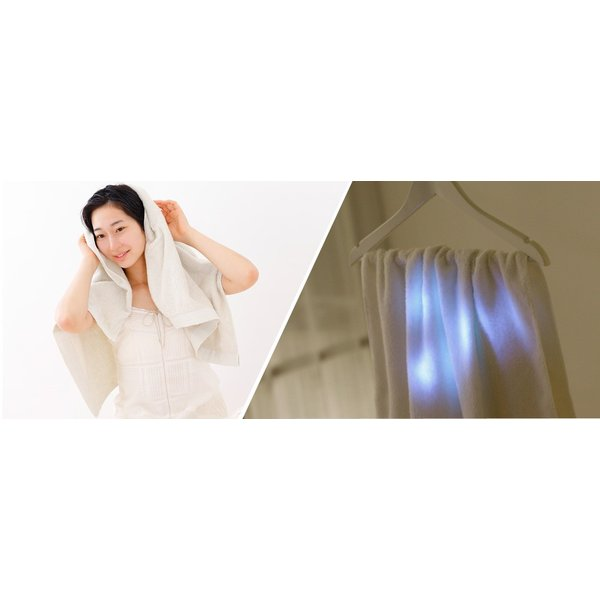 iimin 今治ずっと清潔タオル バスタオル 銀イオンの除菌力と柔らかな肌触りを持つ今治バスタオル 約 60×120cm 部屋干しでも臭いにくい 撫でるだけで水分を吸収|iimin|07