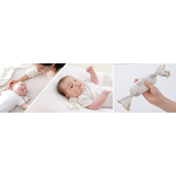 ベビー枕 iimin ベビーピロー キャンディータイプ 新生児の首元をしっかり支える ベビー用品 おしゃれなプレゼント|iimin|04