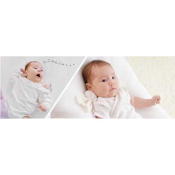 ベビー枕 iimin ベビーピロー キャンディータイプ 新生児の首元をしっかり支える ベビー用品 おしゃれなプレゼント|iimin|09