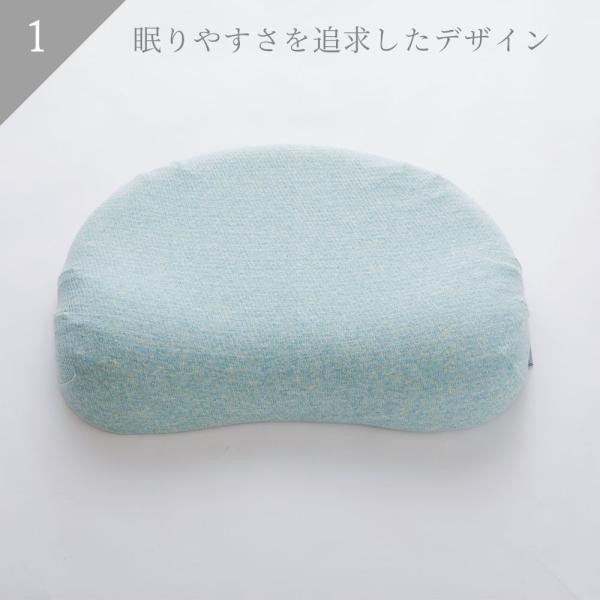 iimin マシュマロまくら レディース 安心・安全、日本品質のボタニカルオーガニックコットン使用  まるでマシュマロみたいな女性向けの低反発枕|iimin|03