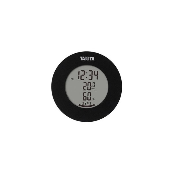 TANITA タニタ デジタル温湿度計 TT-585BK