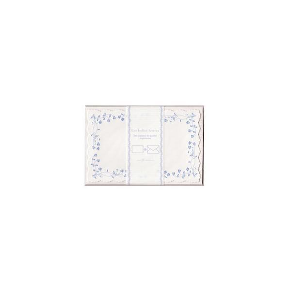 クリエイトジー ダイカットミニレターセット エンボス加工 花柄 CGL144 6セット