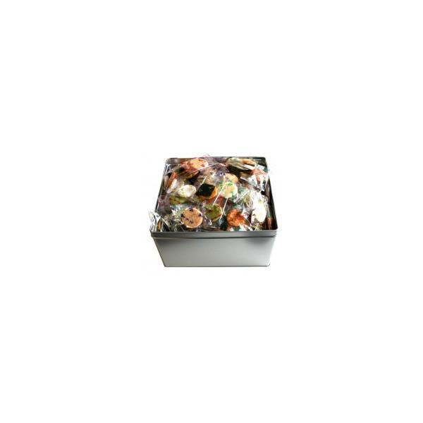埼玉の名産 小丸草加せんべい☆美ッ久寿(ミックス)小丸 500g ×2缶セット お菓子 こつぶ おかき