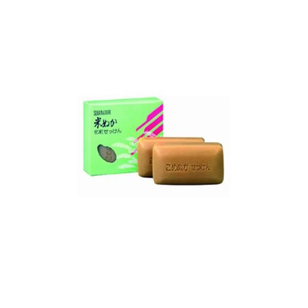 ボーソー スクワナチュレ 米ぬか化粧石けん 140g×2個