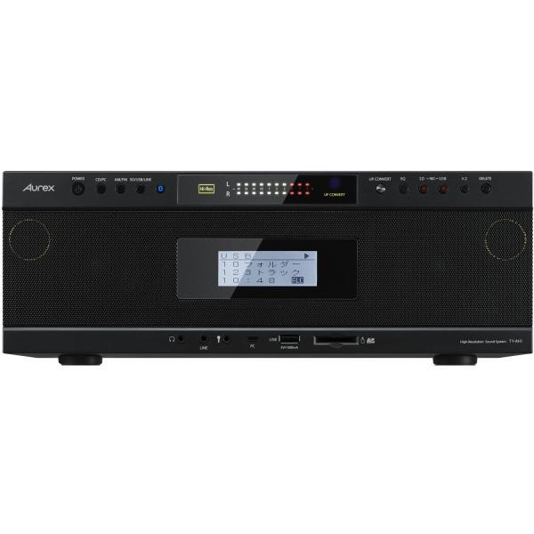 ハイレゾ対応Bluetooth/SD/USB/CDラジオ(ブラック) 東芝 TOSHIBA Aurex TY-AH1(K)