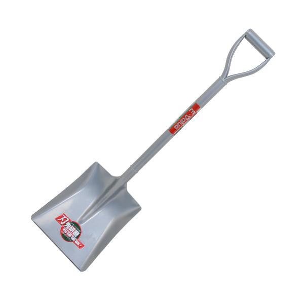 藤原産業 E−Value パイプ柄 角 ショベル 刃先研磨 EPS-2 穴掘り 土すくい はがれにくい 粉体塗装 園芸 農業 農家 畑 庭 家庭 スコップ